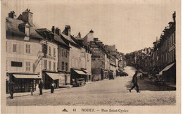 RODEZ - Rue Sainte- Cyrice - Rodez
