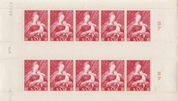 GERMANIA-SARRE 1954: SPLENDIDA SERIE IN FOGLIETTI UNIFICATO N. 331-333 NUOVA GOMMA INTEGRA (MNH)! CV. 100++EURO - French Zone