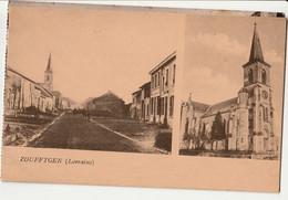 CPA 61 -ORNE Zoufftgen Lorraine : Rue Du Village Et L'église NON CIRCULEE RARE - Other Municipalities