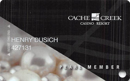 Cache Creek Casino - Brooks, CA - Slot Card - Casino Cards