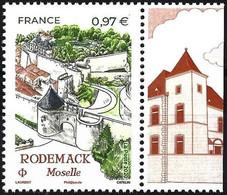 France 2020 - Mi 7627 - YT 5407 ( Rodemack ) MNH** + Label - Nuovi