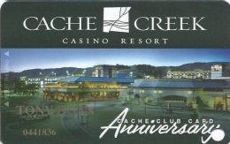 Cache Creek Casino Brooks, CA Slot Card - Anniversary Card - Casino Cards