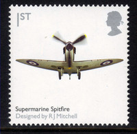 GB 2009 QE2 1st British Design Classics Spitfire Umm SG 2887 ( L664 ) - Ungebraucht