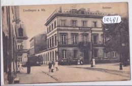 KREFELD- UERDINGEN A. RH- RATHAUS - Krefeld