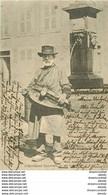 WW 63 TYPES D'AUVERGNE. Un Vielleux 1903 Fine Ridule Coin Droit... - Auvergne Types D'Auvergne