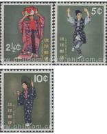 Ref. 651540 * MNH * - RYU KYU. 1960. TRADITIONAL COSTUMES . TRAJES TRADICIONALES - Ryukyu Islands