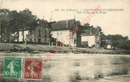 17. ILE D'OLERON .  SAINT TROJAN LES BAINS .  Les Villas De La Plage . - Ile D'Oléron