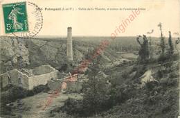 35.  PAIMPONT .  Vallée De La Marette Et Ruines De L'ancienne Usine . - Paimpont