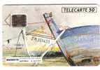TELECARTE 50U PRIVEE MAGNETIC ST MALO BATEAUX DESSIN ROBIN - Phonecards: Private Use
