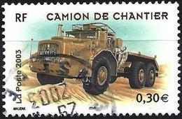 France 2003 - Mi 3757 - YT 3615 ( Construction Truck ) - Usati