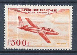Timbre Poste Aérienne Neuf Sans Gomme FRANCE 500 F Magister N° 32 (Y Et T) XIII-2 - Unused Stamps