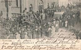 SPA : SOUVENIR DES FUNERAILLES DE S.M. LA REINE MARIE HENRIETTE LE 22 SEPTEMBRE 1902 - Altri