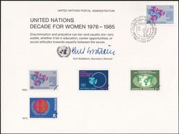 UNO NEW YORK 1980 Mi-Nr. 17 Erinnerungskarte - Souvenir Card - Briefe U. Dokumente