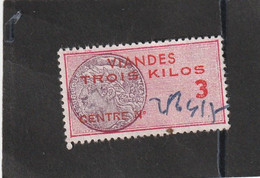 T.F Viandes N°91 - Revenue Stamps