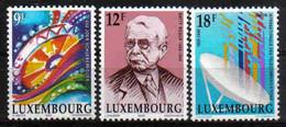 Luxemburg 1990 Anniversaries Y.T. 1190/1192 ** - Nuovi