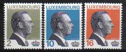 Luxemburg 1995 Grand-Duc Jean Y.T. 1307/1309 ** - Nuovi