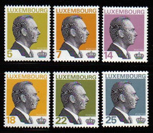 Luxemburg 1993 Grand-Duc Jean Y.T. 1260/1265 ** - Nuovi