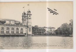 CPA-95-Val D'Oise- ENGHIEN-les-BAINS- Les Bords Du Lac, Le Casino Et L'Hôtel Des Quatre Pavillons- - Enghien Les Bains