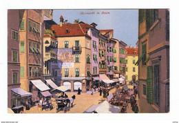 BOZEN:   OBSTMARKT  -  NACH  OSTERREICH  -  KLEINFORMAT - Piazze Di Mercato