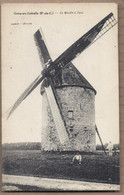 CPA 62 - GOUY-EN-GOHELLE - Le Moulin à Vent - TB PLAN EDIFICE INDUSTRIE - Altri Comuni