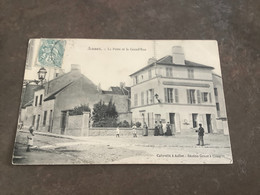Carte Postale Annet La Poste Et Le Grande Rue - Andere Gemeenten