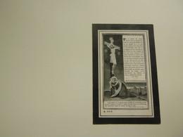 Doodsprentje  ( 7883 ) Decorte  /  Decaestecker  -  Noordschoote  Reninge     -  1914 - Avvisi Di Necrologio