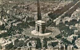 CPSM Paris-Arc De Triomphe-Beau Timbre   L736 - Arc De Triomphe
