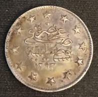 TURQUIE - TURKEY - 2 KURUS 1898 - Argent - Silver - KM 736 - Abdul Hamid II - Türkei