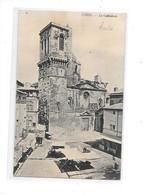 DEP. 30 NIMES N°9 LA CATHEDRALE Marché, Cliché 1908-1910 - Nîmes