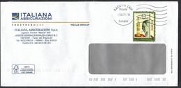 Italia 2021, Storia Postale: 200° Luxardo, Viaggiata Nell' Anno Di Emissione. - 2011-...: Marcophilia