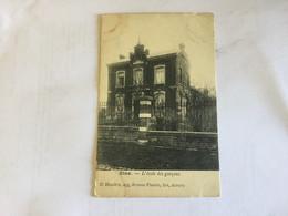 OLNE 1907   L' ECOLE DES GARCONS - Olne