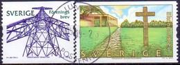 ZWEDEN 2005 Wereld Erfgoed GB-USED - Oblitérés