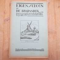 Eigen Schoon 1930 Molens In Pajottenland Windmolen Frankische Kolonisatie Brabant Van Overstaeten Geslacht Sagen Brabant - History