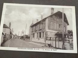 Carte Postale Condes Sur Vesgre Le Bureau De Poste - Other Municipalities