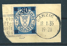 Danzig MiNr. 242 Briefstück - Danzig