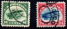 Estados Unidos (aéreo) Nº 2/3. Año 1918 - 1a. 1918-1940 Used