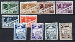 1943 San Marino - Propaganda Per La Stampa Serie Completa N. 228 - 237 Nuovo MLH* - Ongebruikt