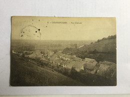 CHASSEPIERRE VUE GENERALE    1922 - Chassepierre