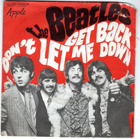 """BEATLES  """" Get Back""""   Disque   2 Titres   APPLE   C 006 04084 - Other - English Music"""