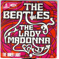 """BEATLES  """" The Lady Madonna""""   Disque   2 Titres   ODEON   FO 111 - Other - English Music"""