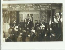 54 - BACCARAT - CP PHOTO - Theatre Du 20 Eme Chasseur Beau Plan Belle Animation Bon état - Baccarat