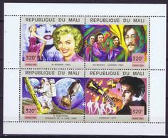 Mali Space 1999 Men And Events Of The 20th CenturyMarilyn Monroe, Beatles, Apollo 11, Elvis Presley - Mali (1959-...)