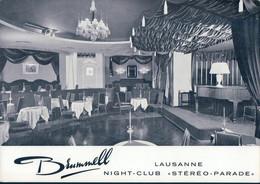 Lausanne VD, Night-Club Intérieur Du Brummell (220920) 10x15 - VD Waadt