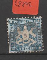 Altdeutschland  Württemberg   Gestempelt  MiNr. 27 - Wuerttemberg