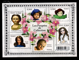 YV 4394 à 4399 / F4394 Feuillet Poupees De Collection - Prix = Faciale - Nuevos