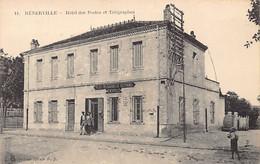 MENERVILLE Thenia - Hôtel Des Postes Et Télégraphes - Andere Steden
