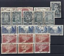Frankreich Lot Aus Mi.240-242 Und 256 Gestempelt - Used Stamps