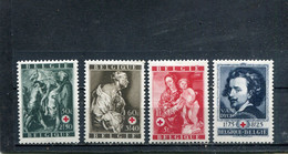 Belgique 1944 Yt 648-651 * - Unused Stamps