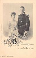 Famille Royale - S.A.R. La Princesse Elizabeth De Bavière Et S.A.R. Le Prince Albert De Belgique - Ed. F. Männer 49 - Non Classés