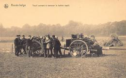 Armée Belge - Treuil Servant à Ramener Le Ballon Captif - Ed. Nels - Non Classés